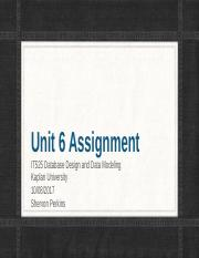 IT525 Unit 6 Assignment Part2.pptx