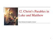 13 The Parables