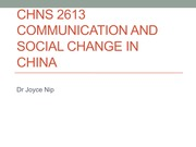 Wk 2_Communication and society+Contextualizing media communications in China_S_2015