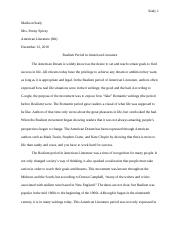 Sealy Research Paper