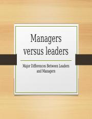 Managers versus leaders.pptx