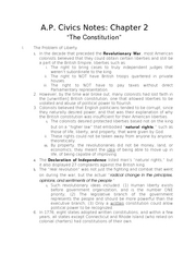 Chapter02-TheConstitution