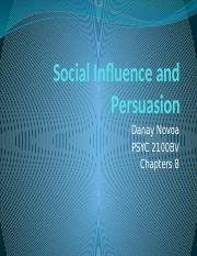 L11 Social Influence and Persuasion.pptx