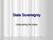 Wk 2 state sovereignty 2 2009