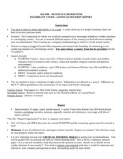Spring 2014 Research Paper instructions
