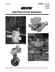 80-1102-02, Rev03 INSTRUCTION MANUAL