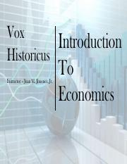 1-1 Introduction to Economics