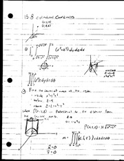 MAT 231 - Notes 15.8 Cylindrical Coordinates