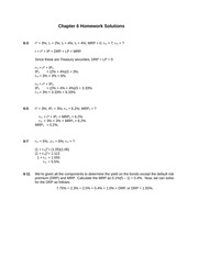 Chapter 6 Homework Solutions