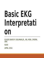 week3Basic EKG Interpretation