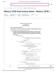 History 1378 final review sheet - History 1378_ The US since 1877 Dr_.pdf