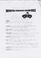 Buying a New Vehicle Worksheet