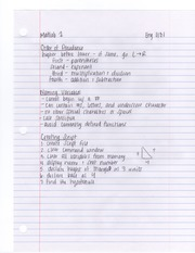 Matlab 1 Notes