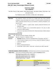 1- Guidelines for ReМЃsumeМЃ -Basic Chronological Resume Format.pdf