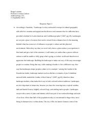 Anthropology 213 Response Paper 1.docx