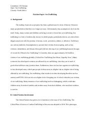Sex Trafficking Position Paper.docx