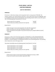 Audit of Receivables - Problem 6-7