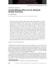 Commodifying Africa on U.S. Network Reality Television.pdf
