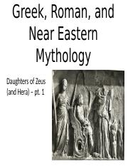 Lect 6 Daughters of Zeus (and Hera).pptx