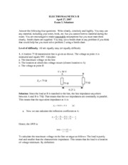 Exam 8 with Solutions