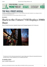 Back to the Future_ Oil Replays 1980s Bust - WSJ 1-13-2014