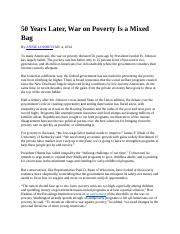 50 Years Later-War on poverty.docx