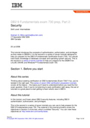 db2-cert7302-a4 - Security