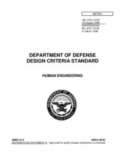 Mil-Std-1472F - Human Engineering (1999)