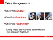0 TALENT MANAGEMENT