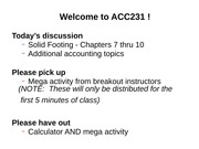 ACC231-Wk 4-Class 1-SF 7 thru 10-Way Chs 1-3-AJEs-Accrued Exp-Deferred Rev-Accrued Rev-Dividends-SV