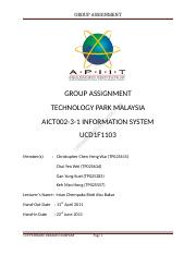 IS Assigment (Group) complete.docx
