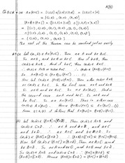 homework 3 solutions on Introduction to Advanced math