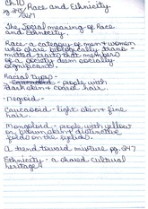 CH 10 sociology Notes