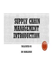 I. Introduction to Supply Chain.ppt