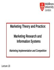 MKT1120 Lecture 18 Marketing Research.ppt