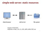 simple web server notes