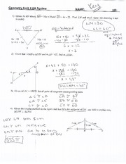 Triangle sum and exterior angle theorem worksheet with key - The exterior angle theorem answers ...