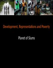 Development, Representations, Poverty