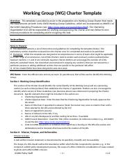 8 Pages 360 Group Charter Example