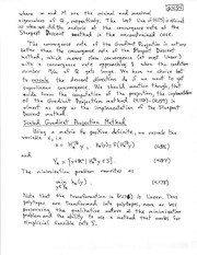 CHEM 331 Scaled Gradient Projection Method Notes