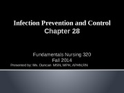 Fundamentals-Infection Control chapt 28 (1)