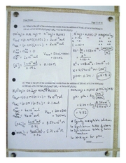 Chemistry winter 2007 exam solutions pg7