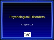 PSYC 101 Chapter 14 PowerPoints
