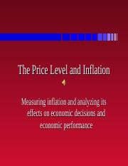 Lecture17--PRICELEVELANDINFLATION