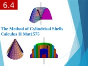 6.4 The Method of Cylindrical Shell.pptx