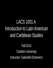 LACS 1001 Week 1_Welcome and Course Introduction.ppt