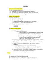 Midterm Study Guide ENGLISH 3301.docx