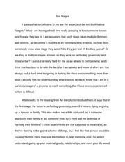 Buddhism-10stages Essay