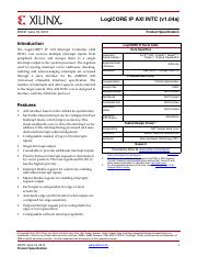 pg276-axi-hbm pdf - AXI High Bandwidth Memory Controller v1
