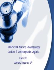 Lecture-5 Antineoplastic Agents-fall-2016.ppt